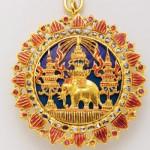 Bijoux d'Ordre de l'Eléphant blanc, Thaïlande.