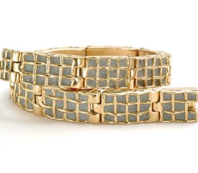 Bracelet Béton Or Jaune - Patrice Fabre.