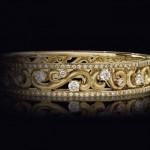 Bracelet Arabesque Or Jaune - Inedit Joaillerie.