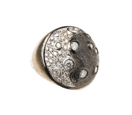 Nouvelle collection Bague Moon Repossi Joaillier.