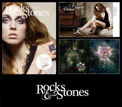 Magazine Rocks and Stones - Joaillerie.