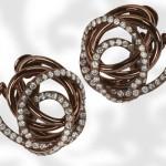 Boucles d'Oreilles Browny Brown - De Grisogono.
