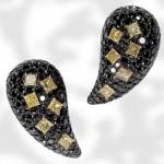 Boucles d'Oreilles Black Diamond - De Grisogono.