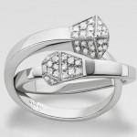 Bague Diamants Chiodo - Gucci Joaillerie.