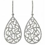 Boucles d'Oreilles Argan Diamants - Etername.