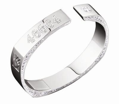 Bracelet Montblanc Diamants Nelson Mandela 46664.
