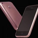 iPhone 3GS Or Rose et Diamants Roses.
