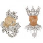 Roi Rutilie et Reine Quartzor - Dior Joaillerie.