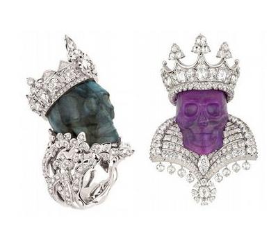 Roi Sugilie et Reine Labradorie - Dior Joaillerie.