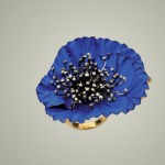 Bague Blue Poppy - Lina Fanourakis.