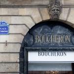Vitrine Boucheron Joaillerie Paris.