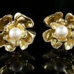 Boucles d'Oreilles Fleurs - Wil Le Cher.