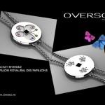 Bracelet Papillon royal/Bal des papillons - Overso.