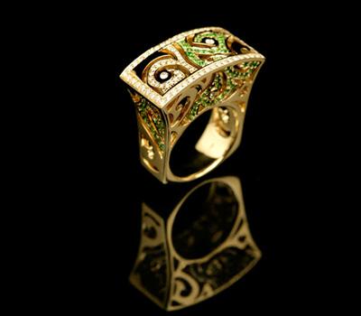 bague femme corrupt design jewelry made in joaillerie. Black Bedroom Furniture Sets. Home Design Ideas