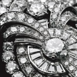 Collier Platine et Diamants Transformable Bulgari - 1938.