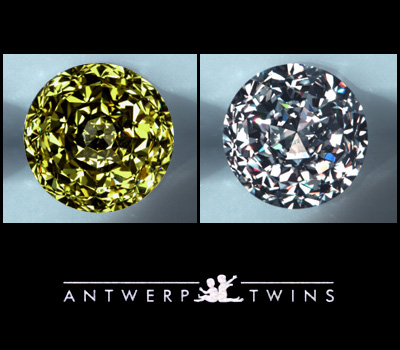 Diamants Taille Jumeaux d'Anvers 2009.