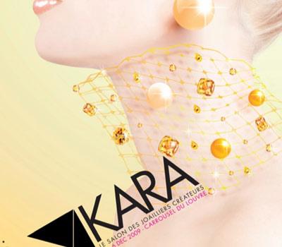 Affiche Salon Kara 2009.