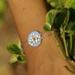 Bracelet Réversible Overso Fleurs des îles.