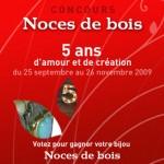 Concours Bijoux Noces de Bois - chez Elsa Vanier.