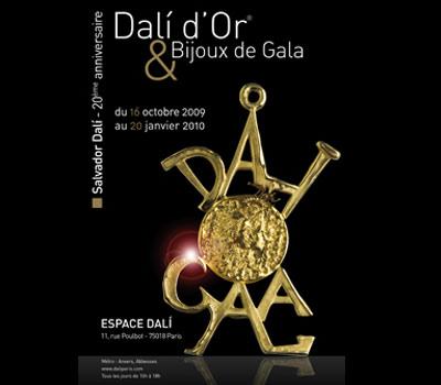 Exposition Dali d'Or et Bijoux de Gala - Paris.