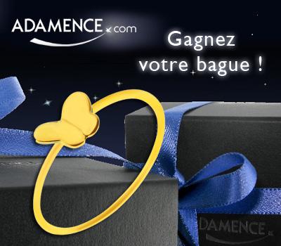 Bague Butterfly d'Adamence à Gagner.