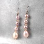 Boucles d'Oreilles Pendantes Perles - Charmpearl.