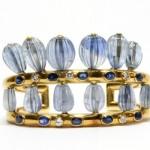 Bracelet Saphirs et Or Suzanne Belperron 1930-40.