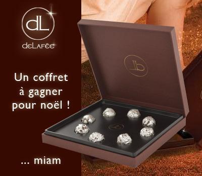 Cadeau Chocolat Argenté Delafée - Concours Made in Joaillerie.