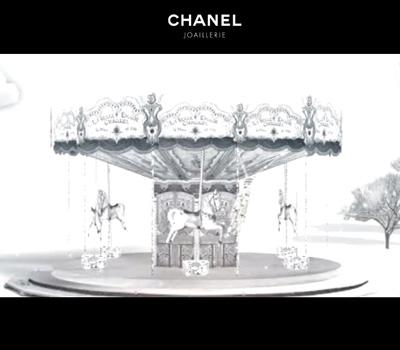 Collection Bijoux Diamants Franges - Chanel Joaillerie.