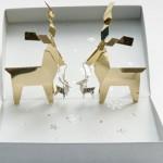 Ecrin Boucles d'Oreilles - Origami Jewellery.