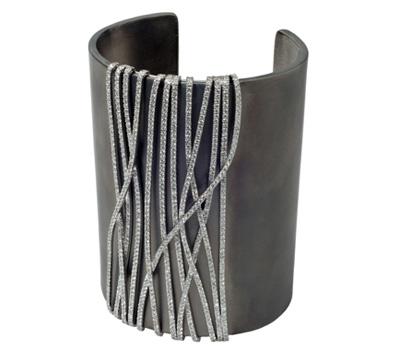 Bracelet Manchette Glam Rock - Eternamé Joaillerie.