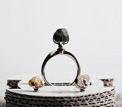 Bagues Diamants Bruts - Bijoux Sruli Recht.