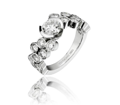 Bague Ebullition Diamants - Vendôme 1699 Joaillerie.