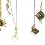 Pendentifs Chairs - Tiny Little Chairs Jewelry.
