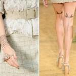 Tatouages Trompe l'Oeil - Chanel Bijoux.