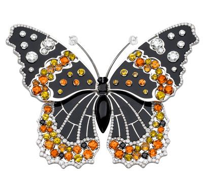 Clip Papillons Vanessa - Van Cleef & Arpels Joaillerie.