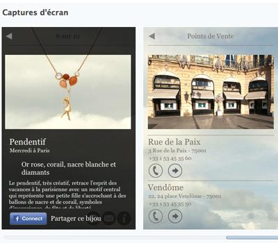 Application A Day In Paris Vs2 Iphone - Van Cleef & Arpels.