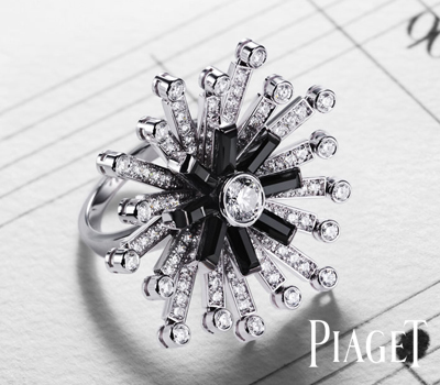 Bague Piano - Limelight Jazz Party Piaget.