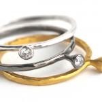 Bagues Single Diamond - Apriati Joaillerie.