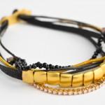 Bracelet Or et Cordon - Apriati Joaillerie.