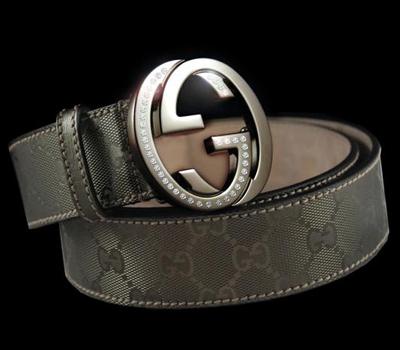 Ceinture Gucci Platine et Diamants - Accessoires Bijoux.