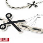 Motif Ciseaux Punctirus Jewelry.