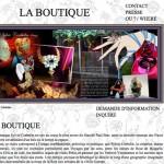Page Boutique Bijoux Site Web - Sylvie Corbelin Paris.