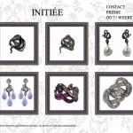 Collection Bijoux Initiée Site Web - Sylvie Corbelin Paris.