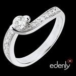 Solitaire Diamants Solstice d'été - Edenly 1040€