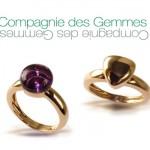 Bagues Baccio - Compagnie des Gemmes Joaillerie.