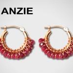 Boucles d'Oreilles Huggies - Anzie Jewelry.