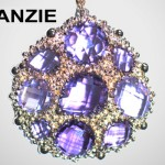 Pendentif Bouquet - Anzie Jewelry.