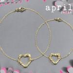 Bracelet Coeur Or Equitable - April Paris Joaillerie.