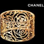 Bracelet Manchette Camelia Ajouré - Chanel Joaillerie.